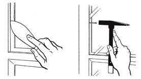 Comment poser une vitre simple vitrage ou double vitrage for Poser double vitrage sur ancienne fenetre