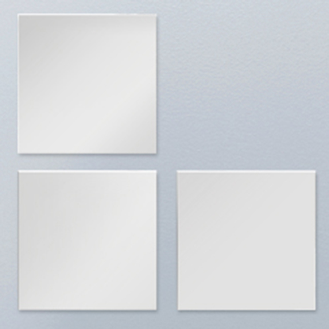 Miroir argent 6 mm avec ou sans film anti clat for Miroir miroir film