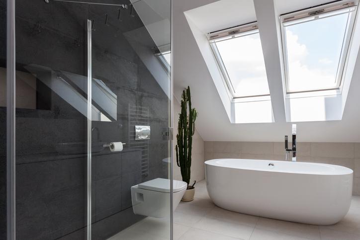 paroi de douche verre trempe securit 8 mm. Black Bedroom Furniture Sets. Home Design Ideas